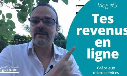 Tes Revenus En Ligne Grâce Aux Micro-Services – VLog