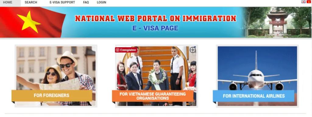 tuto faire une demande de e visa pour le Vietnam