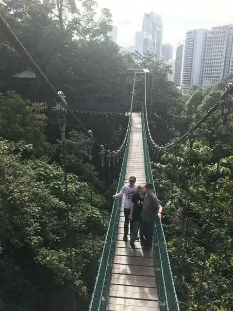 La famille nomade digitale Kuala Lumpur malaisie