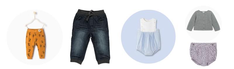 vêtements bébé indispensables tenues