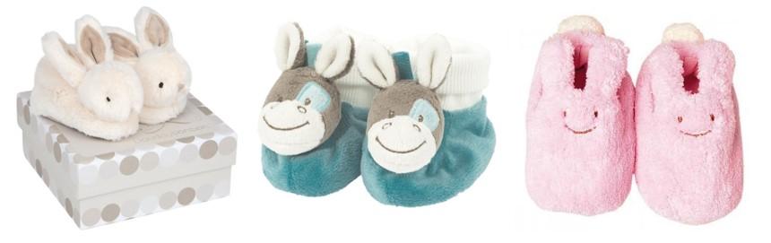 chaussures nouveau né chaussons peluches