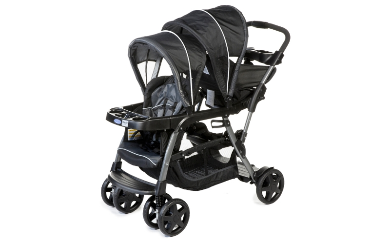 pussette double ready2grow graco