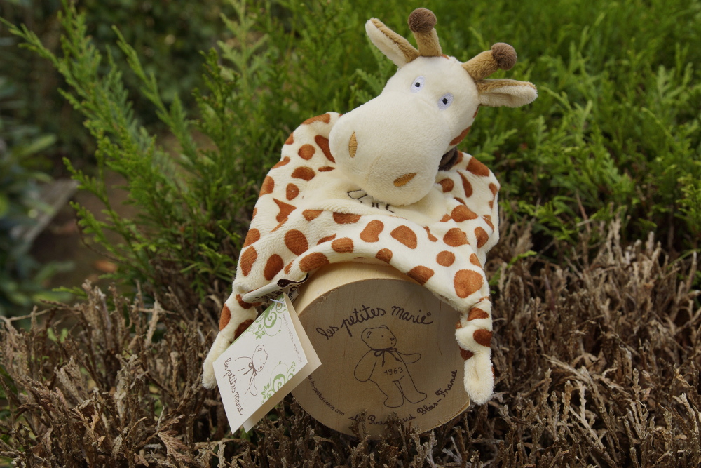 be bloom doudou bébé girafe