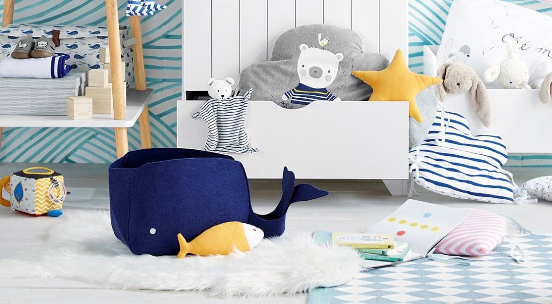 baleine décoration chambre bébé enfant
