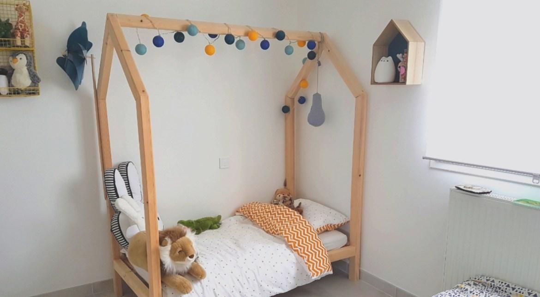 lit maison en bois DIY