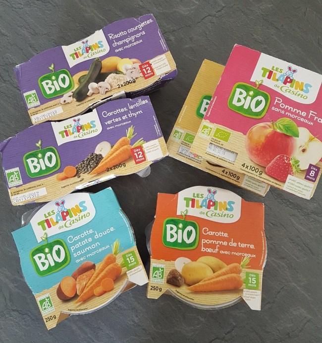 gamme les tilapins bio casino alimentation bébé