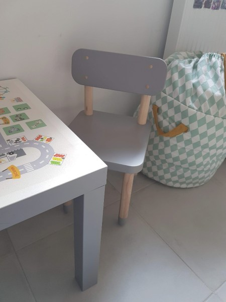 chaise enfant flexa gris emob-meuble avis