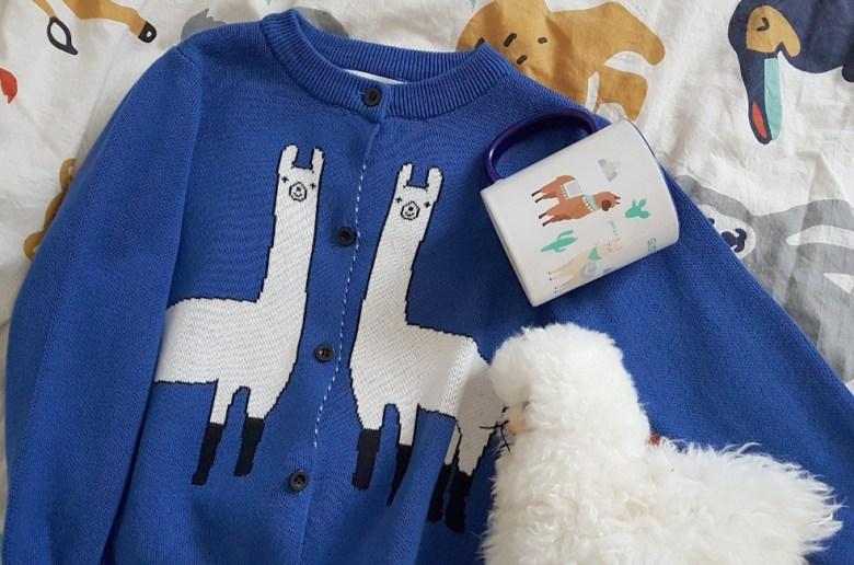 sélection lama décoration jouets peluche enfant