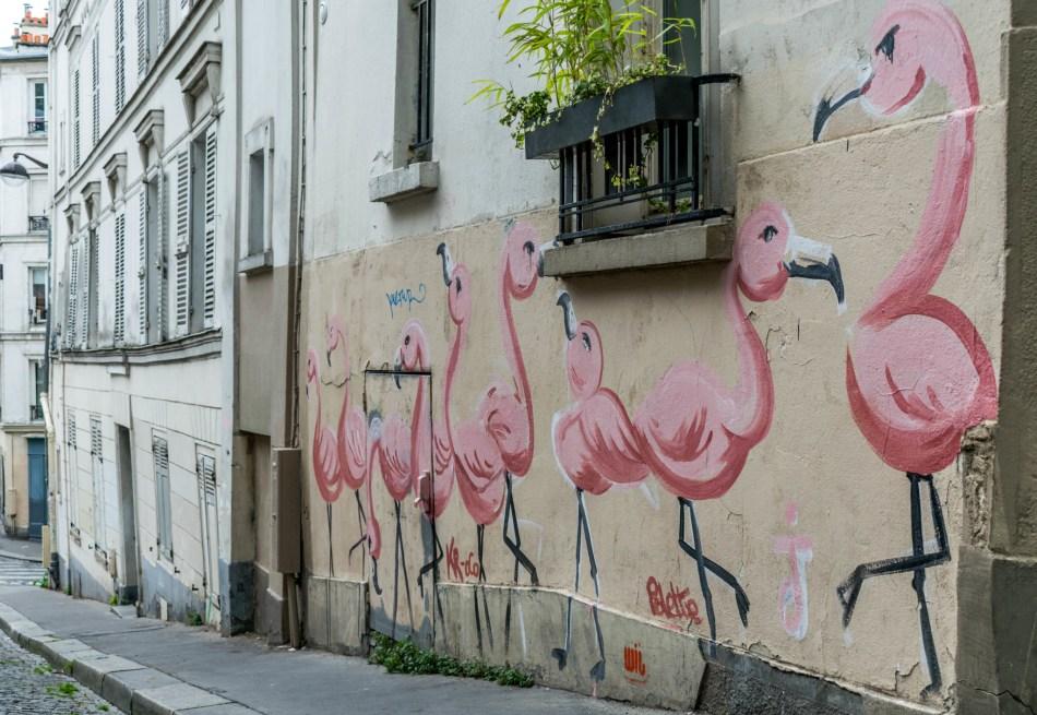 street art à Montmartre