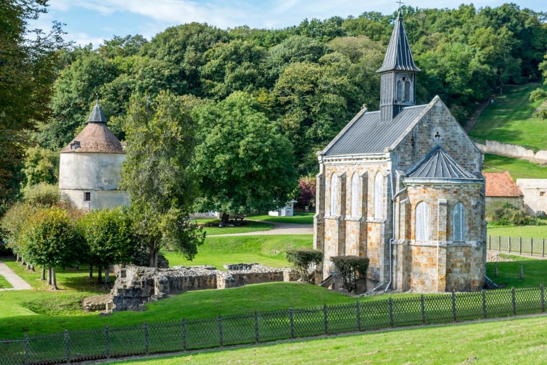 L Abbaye De Port Royal Des Champs Famille France Trotteuse