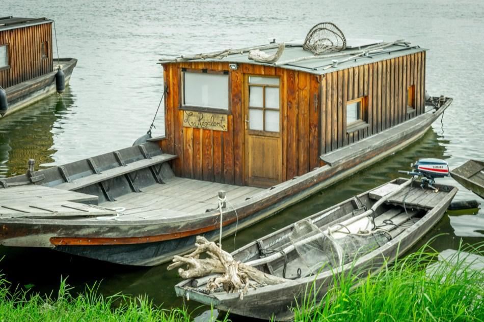 Les bateaux du Thoureil