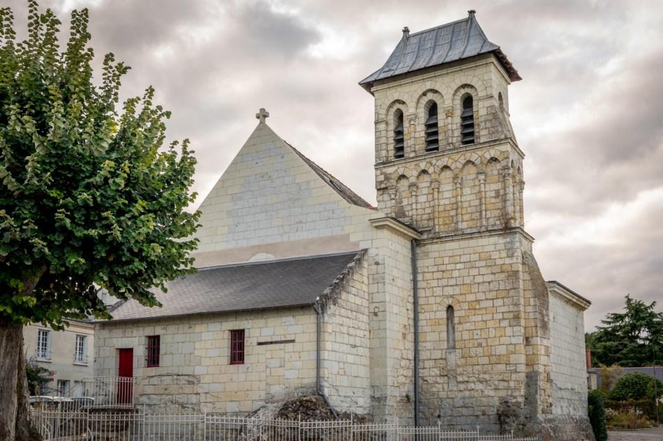 L'église du Thoureil