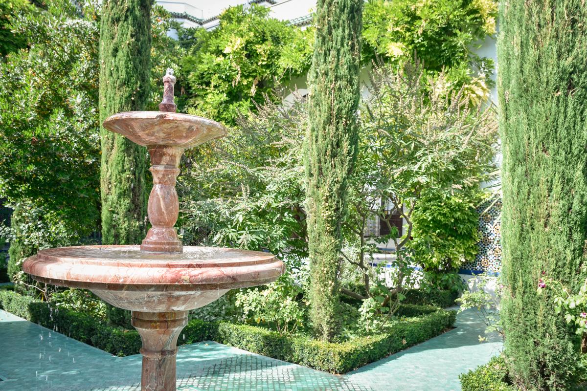 Fontaine jardin de la Grande Mosquée de Paris