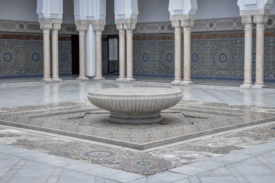 Patio de la Grande Mosquée de Paris