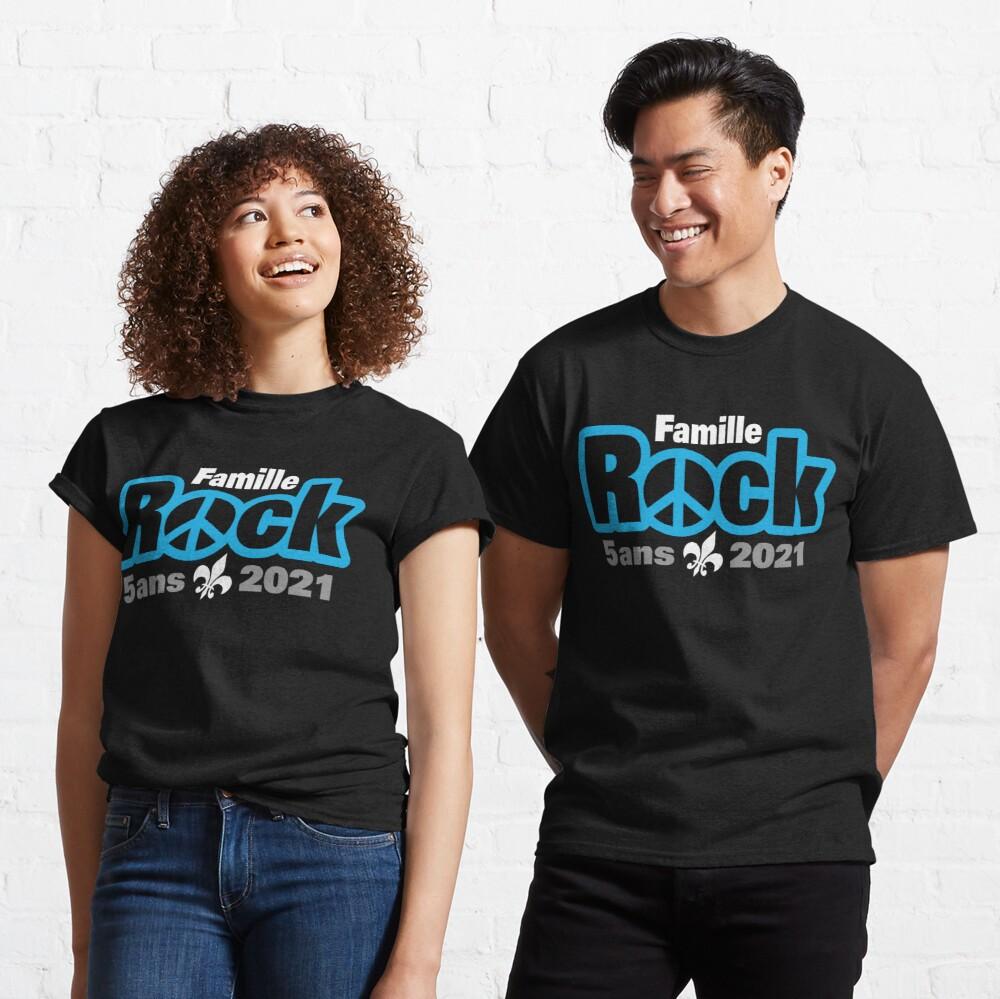 Famille Rock Édition 5ans T-shirt classique