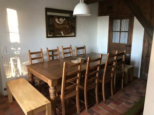 Family Fun Holidays Normandy Self Catering Lettings Dining Room 2