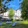 Grand jardin de l'hôtel
