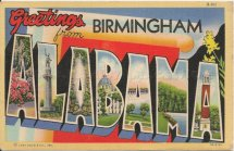 Birmingham Alabama Welcome Sign