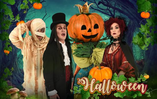 Duo-tickets voor Halloween!