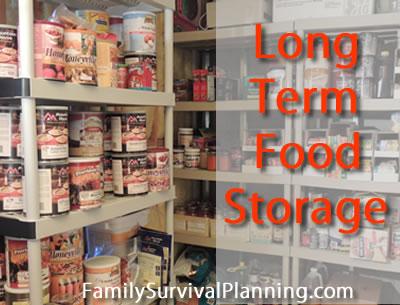 Storage Long Term Food Storage