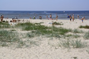 Jurmala, Latvias most popular beach.