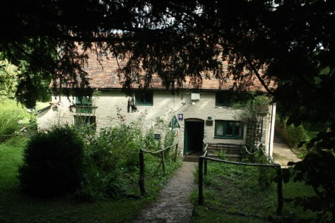 Our favourite youth hostel in England. Tanner's Hatch.