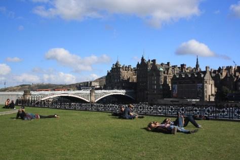 Schottland mit Kindern, Edinburgh