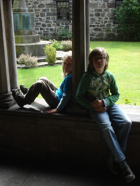 Schottland mit Kindern, Kloster Paisley