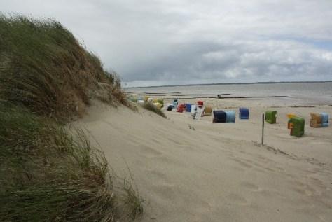 Der Strand von Utersum ganz im Westen der Insel.