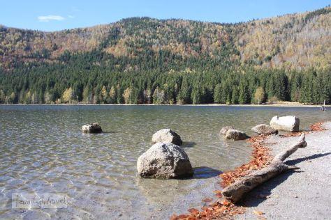 Klar wie die Südsee: Die Wasserqualität vom Kratersee St. Anna sucht ihresgleichen.