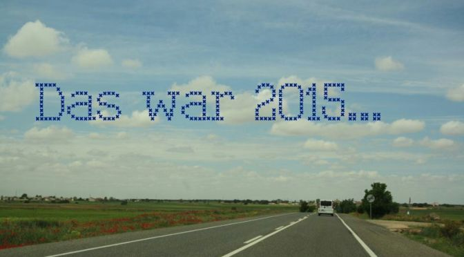 Ich will auch: Jahresrückblick 2015