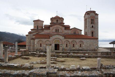 St. Kliments Kirche Ohrid, Mazedonien