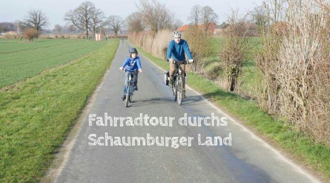 Erste Fahrradtour im Frühling: Die LandTour Bückeburg