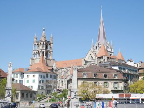 Backpacking mit Kind in der Schweiz, Lausanne