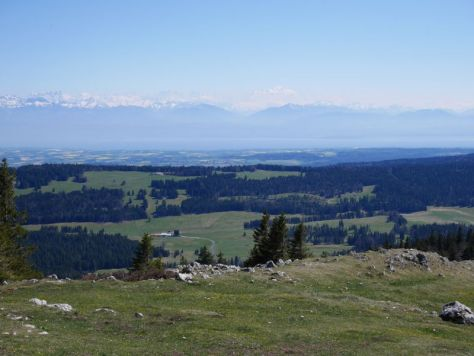 Backpacking mit Kind in der Schweiz, Jura