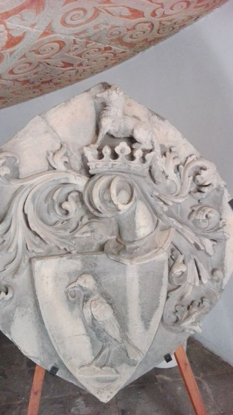 Merseburger Wappen mit Raben