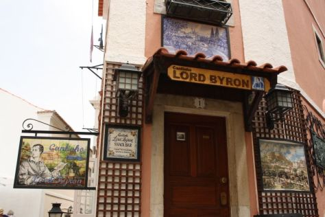 Lord Byron in Sintra, Portugal