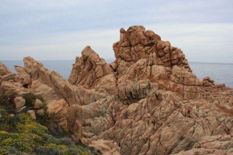 Punta Caneddi, Isola Rossa, Sardinien