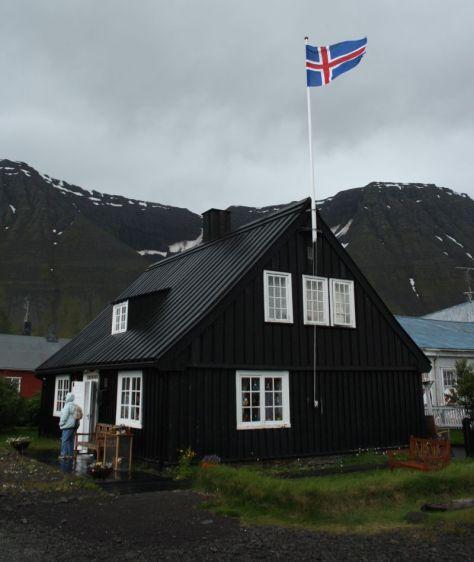 Isafjördur, Island, Sehenswürdigkeiten Altstadt