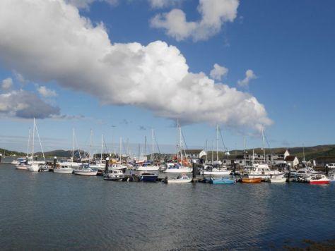 Tagesausflug Kintyre, Campbelltown Hafen