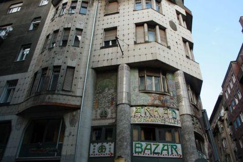 Ungarn, Budapest, Fassaden