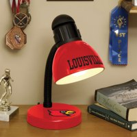 Louisville Cardinals NCAA College Desk Lamp