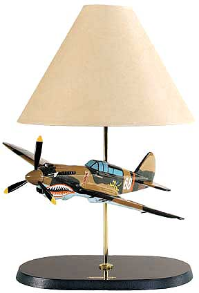 Flying Tiger Classic Airplane Lamp