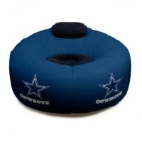 Dallas Cowboys NFL Vinyl Inflatable Chair w/ faux suede ...