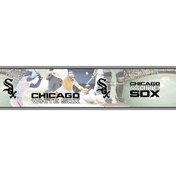 Chicago White Sox Mlb Wall Border