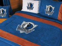 Dallas Mavericks NBA Microsuede Comforter / Sheet Set