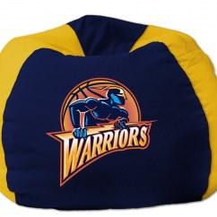 Sports Bean Bag Chairs Back Jack Floor Chair Australia Golden State Warriors Nba 102