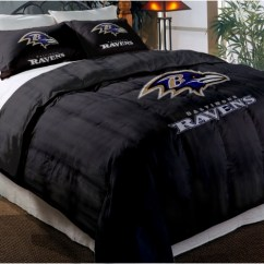 Teen Room Chairs Chair Organizer Pockets Baltimore Ravens Nfl Twin Chenille Embroidered Comforter Set With 2 Shams 64
