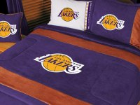 Los Angeles Lakers MVP Microsuede Comforter