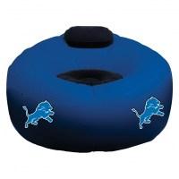 Detroit Lions NFL Vinyl Inflatable Chair w/ faux suede ...